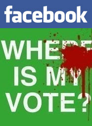 Facebook Iran revolution